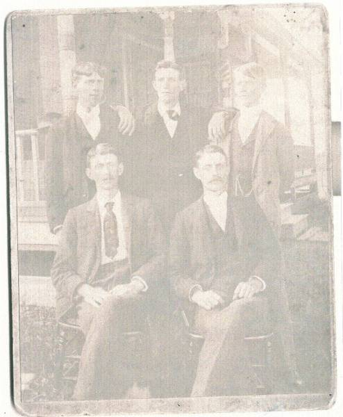 Hawley Brothers-Arthur, Henry,  George, William and Charles Oscar