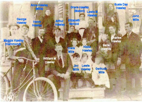 Peg Leg Lew's Family - Annotated