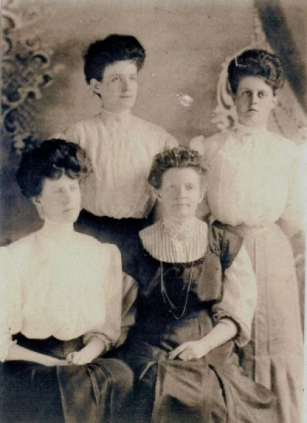Margaret-Anna-Grace and Frances Kesiah Hawley